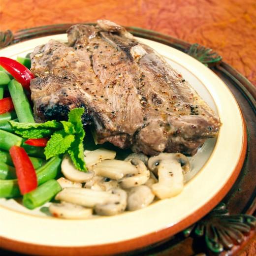 Stock Photo: 1574R-016208 Lamb Chop