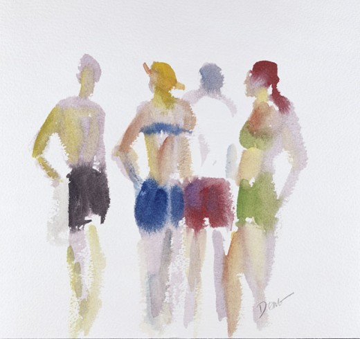 Beach Goers 