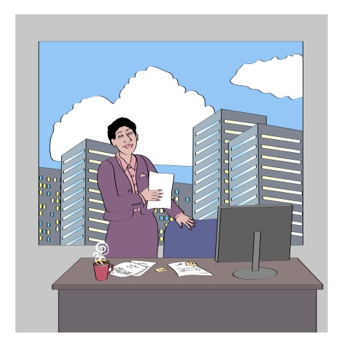 Stock Photo: 1574R-019054 The Supervisor 1
