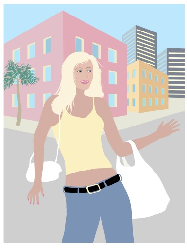 The Blond Shopper