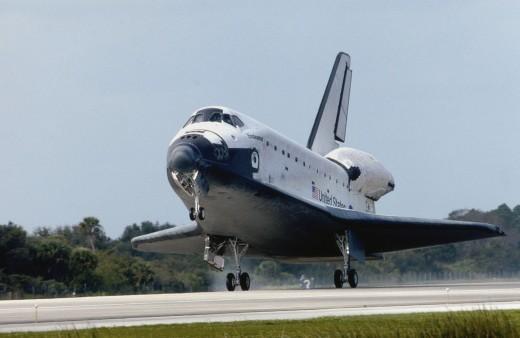 Space Shuttle Endeavor : Stock Photo