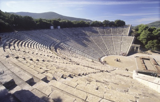 Stock Photo: 1574R-09929 Epidaurus