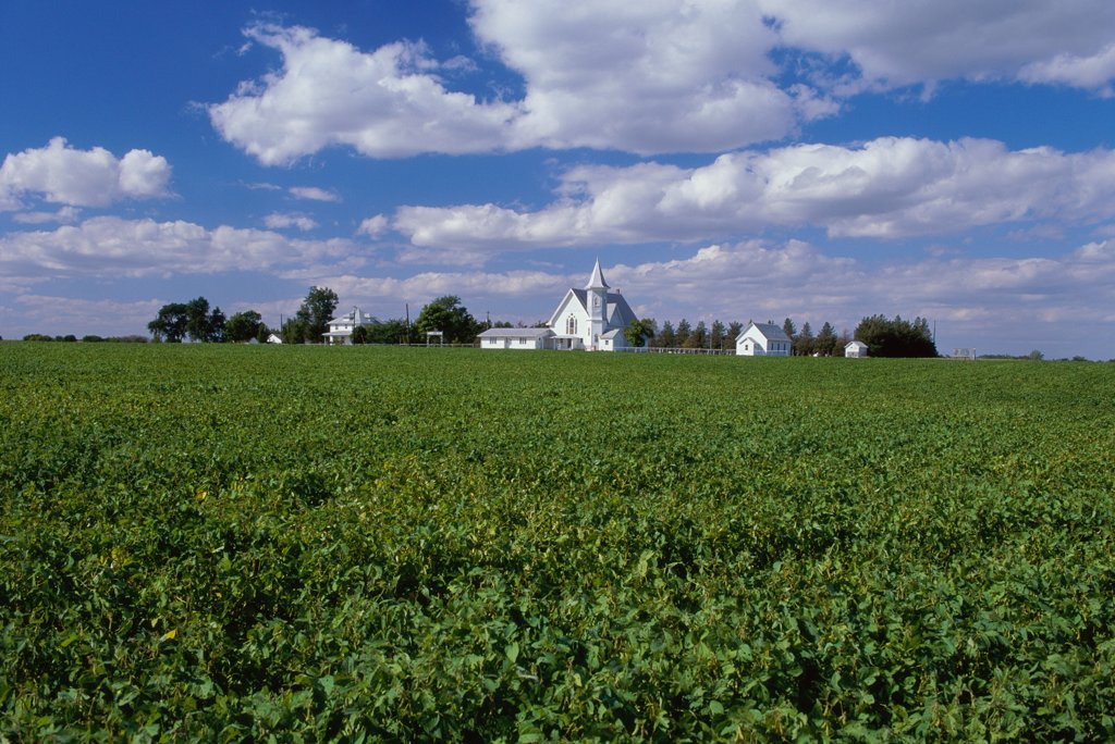 Stock Photo: 1574R-34055 Marshall County Kansas USA