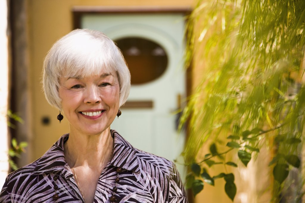 Stock Photo: 1574R-36912 Close-up of a woman smiling