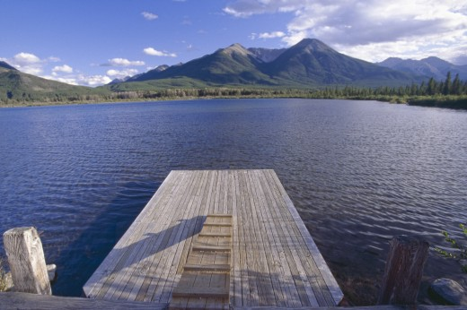 Stock Photo: 1574R-37327 Vermilion Lakes in Banff National Park, Alberta, Canada