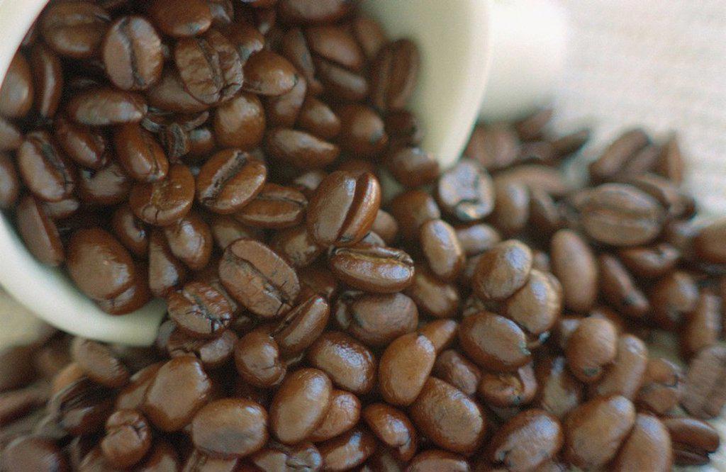 Stock Photo: 1575-5410 Coffee beans