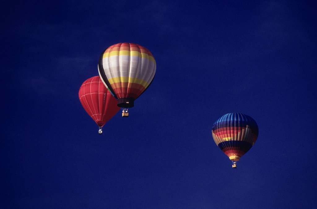 Hot Air Ballooning, Ottawa, Ontario : Stock Photo