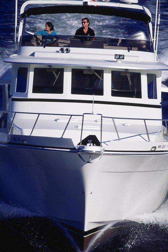 Stock Photo: 1575-6077 Power Boat