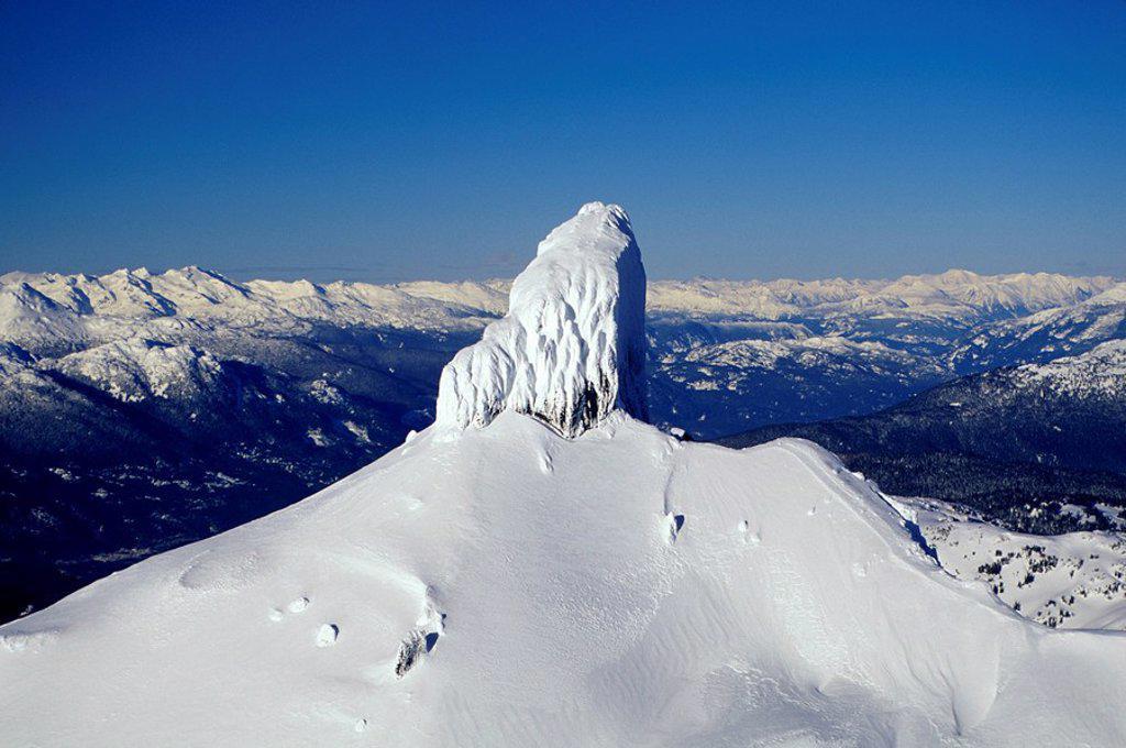 Black Tusk, Garibaldi Provincial Park, British Columbia, Canada : Stock Photo
