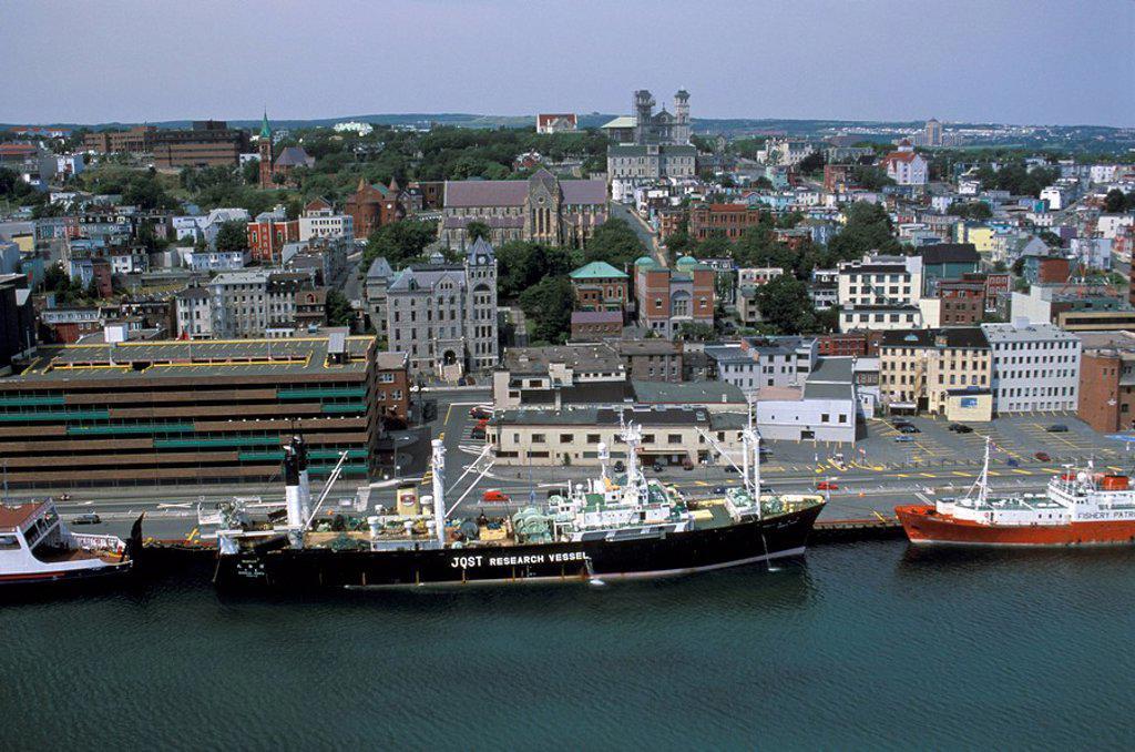 St. Johns, Newfoundland, Canada : Stock Photo