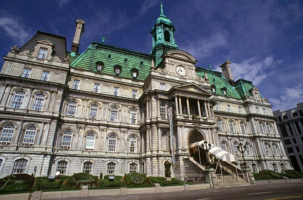 Montral city hall, Old Montral, Quebec, Canada : Stock Photo