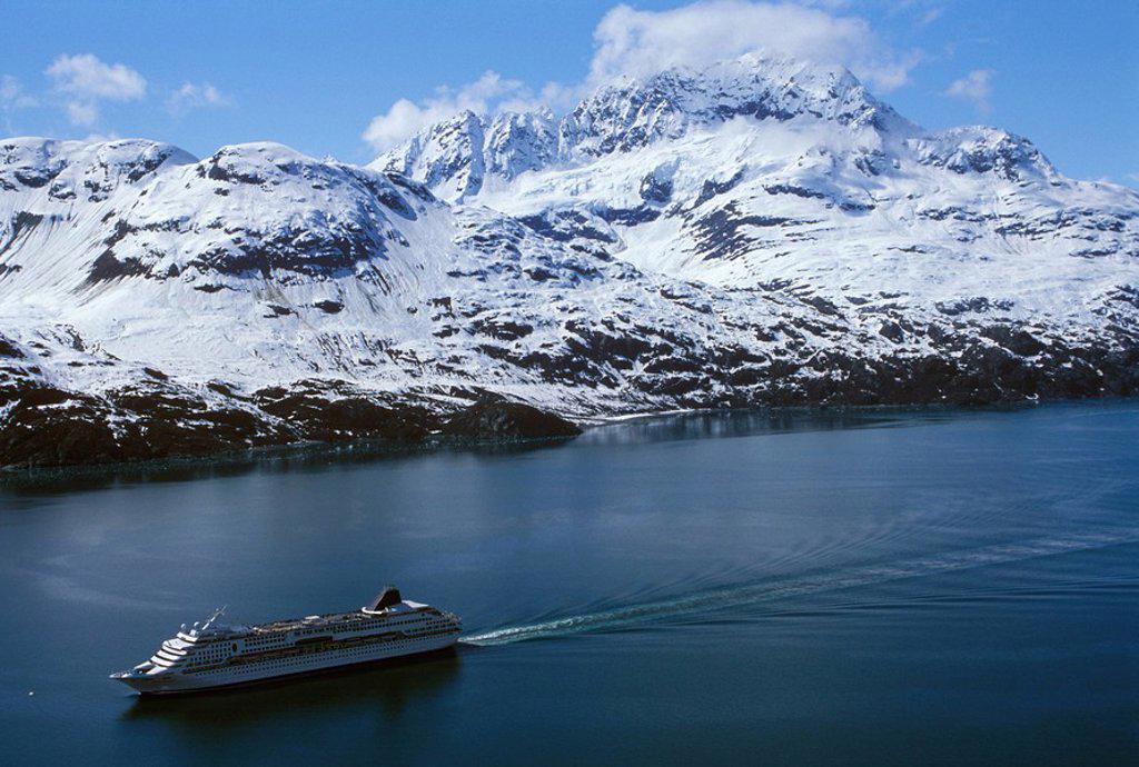 Stock Photo: 1575-9634 glacier Bay national Park, Alaska