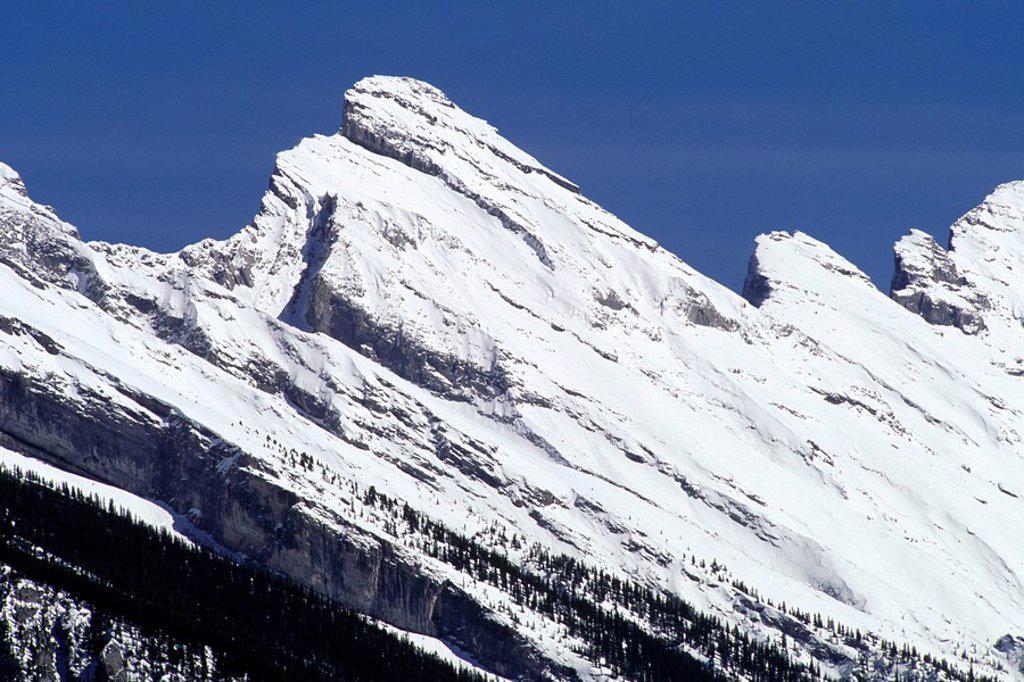 Stock Photo: 1575-9828 Rocky Mountains, Alberta