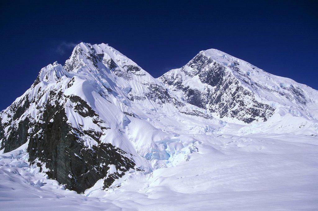 Stock Photo: 1575-9856 Mt. St Elias, Alaska, USA
