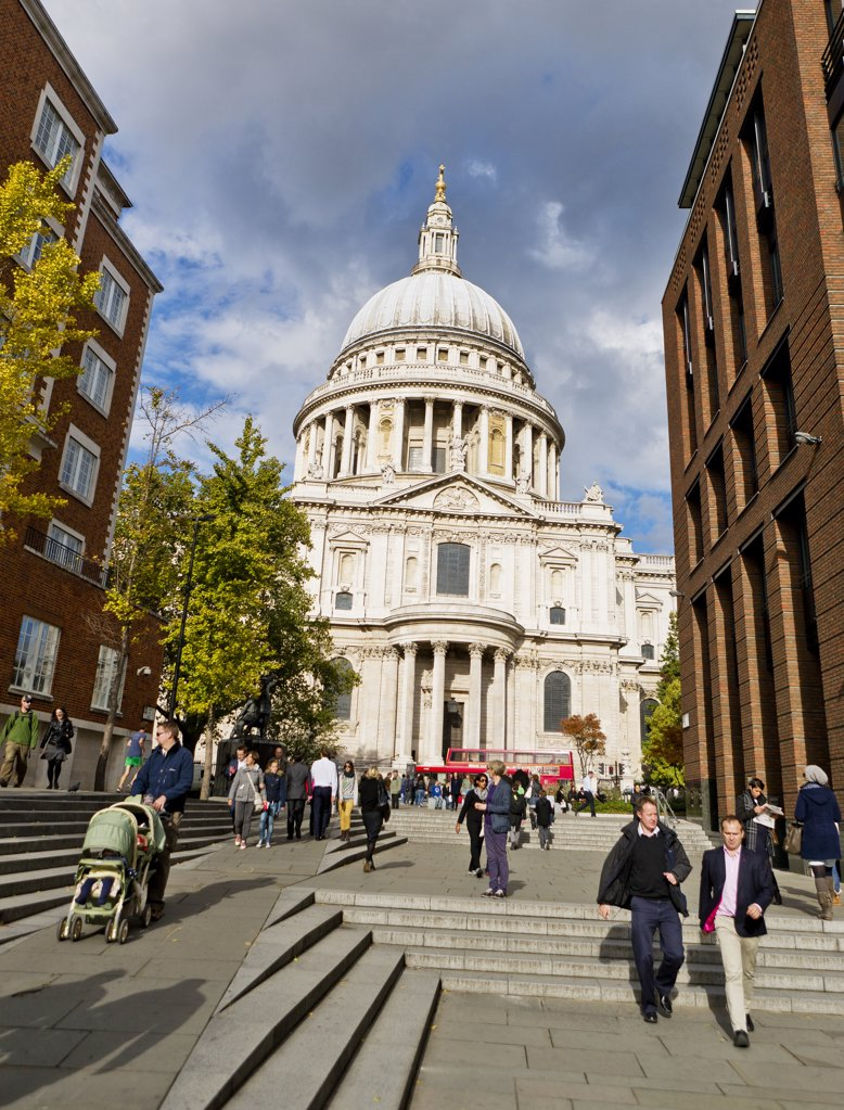 Stock Photo: 1580-625 UK, England, London, St.Paul's Cathedral