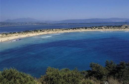 Peloponnese Greece : Stock Photo