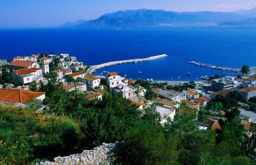 Arcadia Peloponnese Greece : Stock Photo