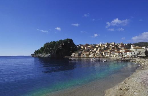 Parga Greece : Stock Photo