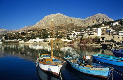 Kalymnos Dodecanese Islands Greece : Stock Photo