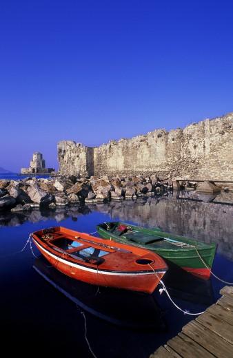 Methoni Peloponnese Greece : Stock Photo