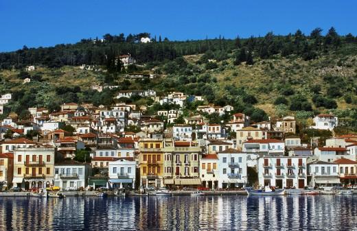 Gythio Peloponnese Greece : Stock Photo