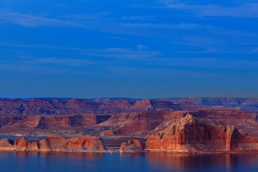 Cliffs on Lake Powell : Stock Photo