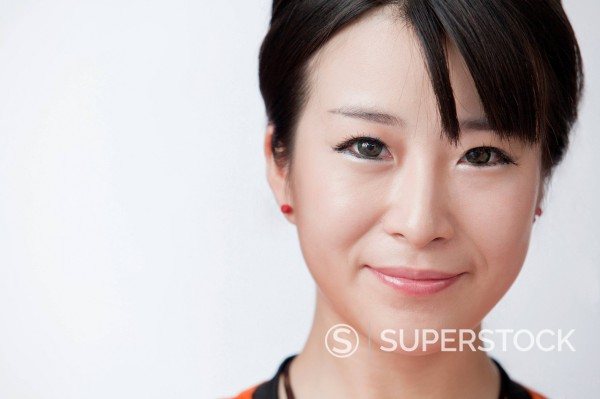 Stock Photo: 1589R-169848 Smiling Chinese woman