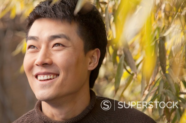 Stock Photo: 1589R-170213 Smiling Chinese man