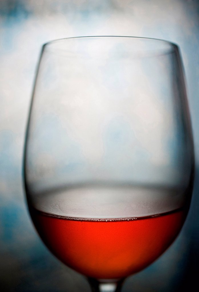 Stock Photo: 1589R-171952 Glass of red wine