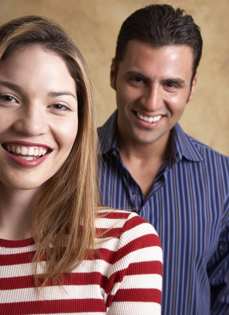 Stock Photo: 1589R-41038 Portrait of Hispanic couple