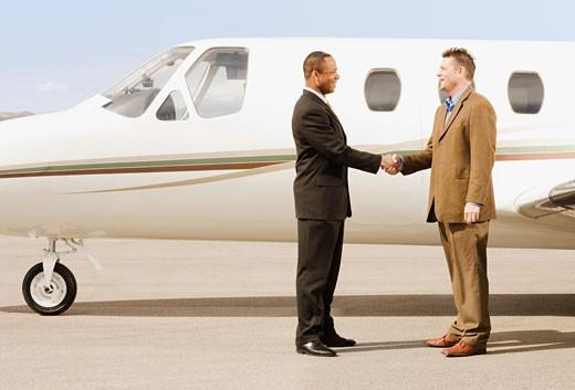 Stock Photo: 1589R-46109 Multi-ethnic businessmen shaking hands