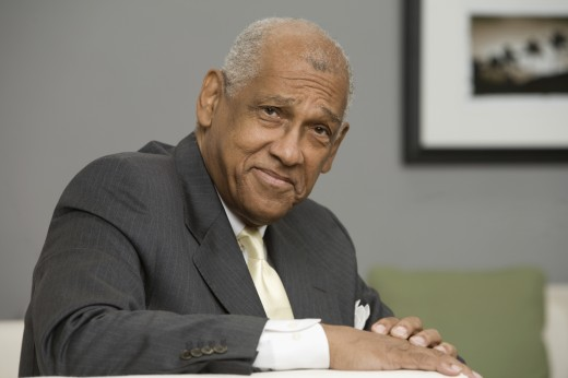 Stock Photo: 1589R-59016 Portrait of senior African businessman