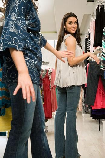 Stock Photo: 1589R-62830 Multi-ethnic women shopping