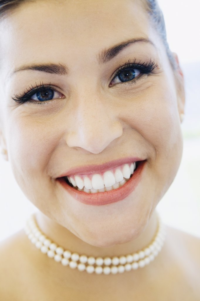 Close up of woman smiling : Stock Photo