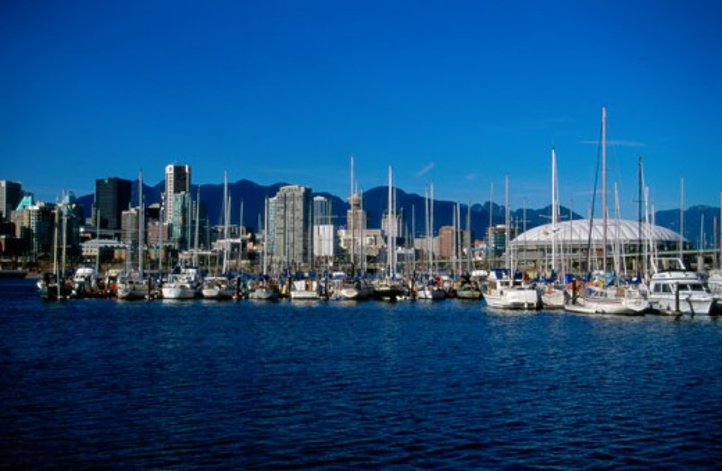 Vancouver British Columbia Canada : Stock Photo