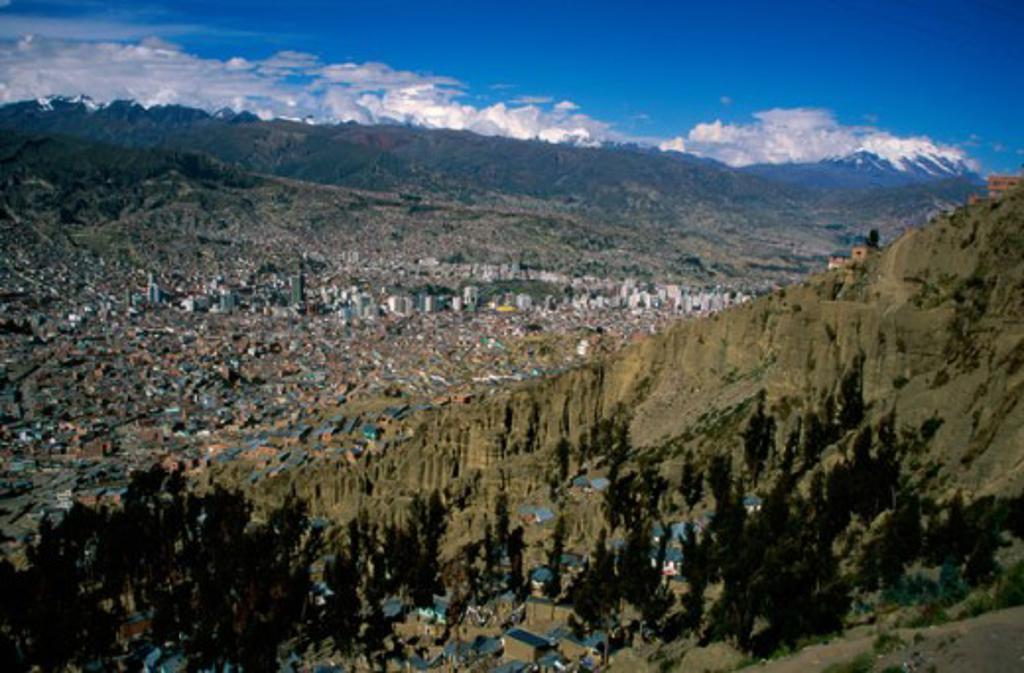 La Paz Bolivia : Stock Photo
