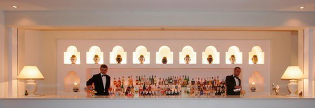 Stock Photo: 1590-758 Italy, Neapolitan Riviera, Sorrento, Cocktail Bar