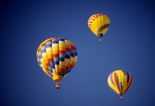 Stock Photo: 1596-3030 Hot air balloon festival, Marion County, Oregon, USA