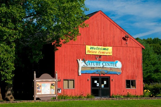 Nature Center at Northwest Park, Windsor, Hartford County, Connecticut, USA : Stock Photo