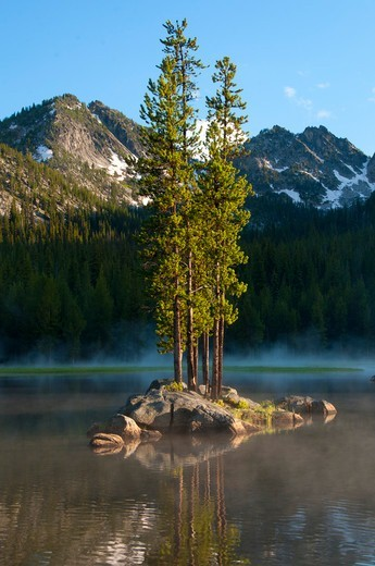 Stock Photo: 1596-3715 USA, Wallowa-Whitman National Forest, Elkhorn National Scenic Byway, Anthony Lake