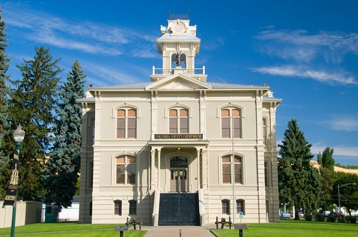 Columbia County Courthouse, Columbia County, Washington State, USA : Stock Photo
