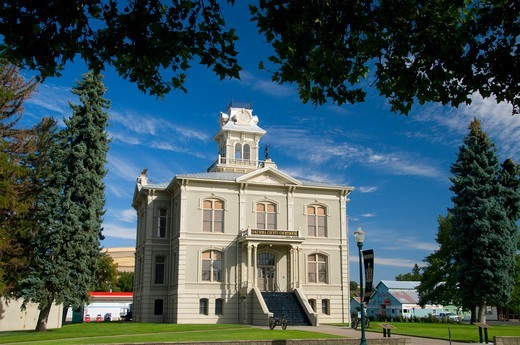 Stock Photo: 1596-4094 Columbia County Courthouse, Columbia County, Washington State, USA