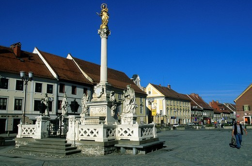 Slovenia, town, city, medieval, historical, city c : Stock Photo