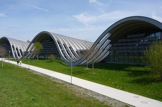 Switzerland, Bern city, Berne, Paul Klee museum, o : Stock Photo