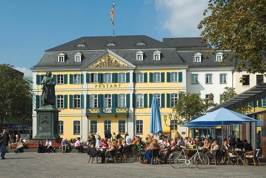 Stock Photo: 1597-101213 Germany, North Rhine_Westphalia, Bonn, old postal