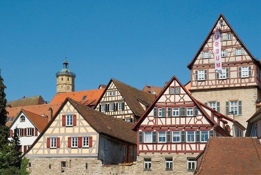 Stock Photo: 1597-101236 Germany, Baden_Wurttemberg, Schwäbisch Hall, Old T