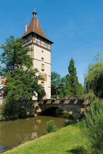 Germany, Baden_Wurttemberg, Waiblingen, Beinsteine : Stock Photo