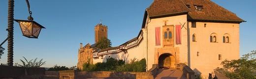 Germany, Thuringia, Eisenach, Wartburg, UNESCO wor : Stock Photo