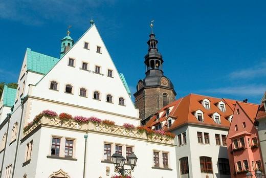 Germany, Saxony_Anhalt, Lutherstadt Eisleben, UNES : Stock Photo