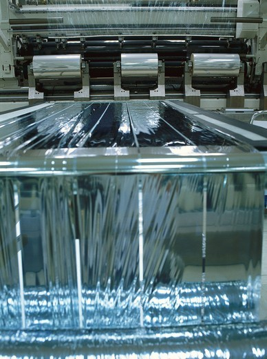 Chemical, Chemistry, Cling Film, Economy, Europe, European, Fabrication, Facility, Factories, Factory, Foil, German, Germany, Hi : Stock Photo